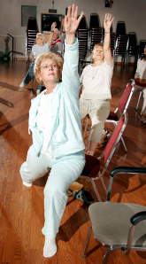 chair yoga catching on among seniors  health  aging