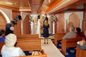 Best cruises for weddings travel romantic getaways for Royal caribbean cruise wedding