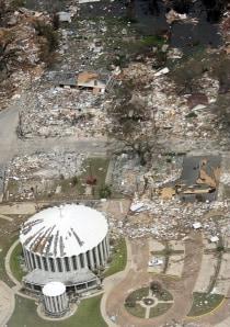 Nbc Biloxi Is Completely Flattened Us News Katrina The