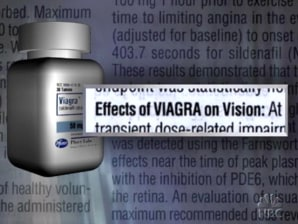 Viagra blindness