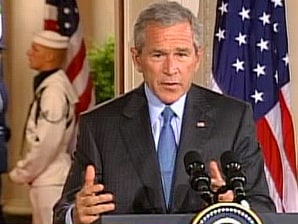 Image result for president george w bush takes full responsibility for the federal response to hurricane katrina