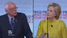 Feb. 11: Hillary Clinton disapproves of Bernie Sanders� past criticism of President Obama during Thursday�s Democratic debate.�(Other)