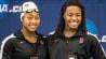 Video: Three women make a splash in NCAA history