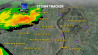 Aug. 20: Rachel Maddow shows weather tracking data as of a thunder storm system passing over Ferguson, Missouri, bringing heavy rain and the potential for hail. �(msnbc.com)