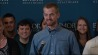 Aug. 21: During a press conference, Dr. Kent Brantly thanks supporters and comments on his ordeal. �(Other)