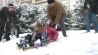 March 5: On Thursday, dozens of families brought their children to sled on the hill on the west side of the Capitol, going against the orders of Capitol Police. �(Other)