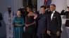 Video: Obamas welcome China's president to state dinner