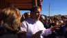 Oct. 30: New Jersey Gov. Chris Christie responded to a question about his fierce confrontation with a Hurricane Sandy aid protester, saying its just another day at the ranch.(Other)