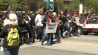 May 23: Raw video from NBC affiliate WKYC shows protesters marching after the not guilty verdict of police officer Michael Brelo in the shooting deaths of Timothy Russell and Malissa Williams in Cleveland, Ohio.�(Other)