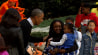 Oct. 31: President Barack Obama and First Lady Michelle Obama greet trick-or-treaters at the White House on Halloween night.�(Other)