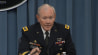 Oct. 30: General Martin Dempsey joked at a recent press briefing that President Obamas limousine is a pretty rough ride, and added that hes actually spent more time with Secy. Chuck Hagel and Obama in the last three weeks than he has with his family.(Other)