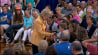July 28: When asked by a young supporter what is most important to her, Democratic presidential candidate Hillary Clinton offered up a simple but powerful answer.(Other)