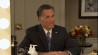 """March 26: Mitt Romney joined """"The Tonight Show with Jimmy Fallon"""" on Wednesday, and took the opportunity to have a quick pep talk with his """"reflection"""" before show-time.�(Other)"""