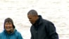 Sept. 3: A fish spawned on President Obama's feet during an Alaska river visit. Luckily, the President took it in stride.(Other)