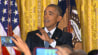 Video: Obama to heckler: 'You're in my house'