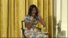 Video: Little girl asks Michelle Obama about her age