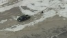 Jan. 27: Watch raw aerial footage of a truck pulling a sledder across the snow near Seaside Heights, New Jersey.�(Other)