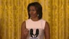 """Feb. 25: Michelle Obama takes a moment as she celebrates the fourth anniversary of her """"Let's Move"""" initiative to share a rap written by some healthy high-schoolers. (msnbc.com)"""