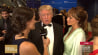 April 25: American business magnate Donald Trump shares his plans for a presidential run with msnbc's Krystal Ball on the red carpet at the White House Correspondents' Dinner.(Other)