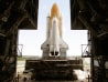Shuttle Discovery moves to launch pad 39B