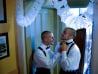 Image: Frank and Joe get ready for their second marriage ceremony