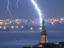 Lightning Statue of Liberty