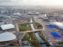 Image: Olympic Park Aerial Images Display Transformation On Eve of Olympic And Paralympic Year