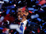 Image: U.S. President Obama celebrates on stage as confetti falls after his victory speech during his election rally in Chicago