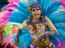 Image: A samba dancer during Carnival celebrations in Rio de Janeiro.