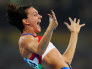 Image: Isinbayeva of Russia breaks the world record