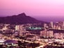 Honolulu, Hawaii at night