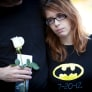 Stephanie Wacker, 18, attends a remembrance ceremony