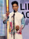 Image: Musician Prince accepts the Lifetime Achievement Award during the 2010 BET Awards