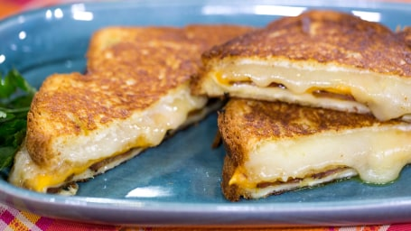 Martha Stewart reveals her trick for the best grilled cheese ever