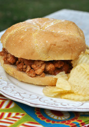 Slow-Cooker Turkey Sloppy Joes recipe
