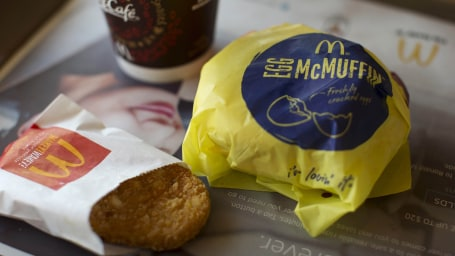 Image: An Egg McMuffin meal is pictured at a McDonald's restaurant in Encinitas, California