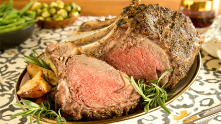 Recipe for prime rib roast