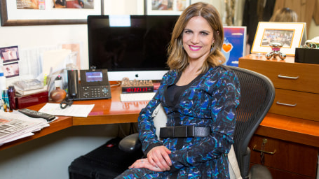 Inside Natalie Morales' Studio 1A dressing room