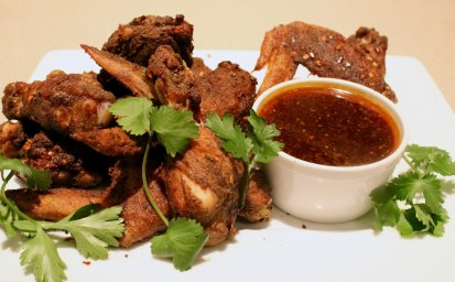 Sweet and Spicy Thai Chicken Wings