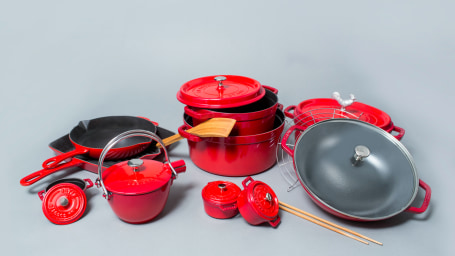 Staub cookware collection for TODAY Food Club giveaway