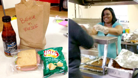 Extreme couponer is helping homeless people by giving them lunches.