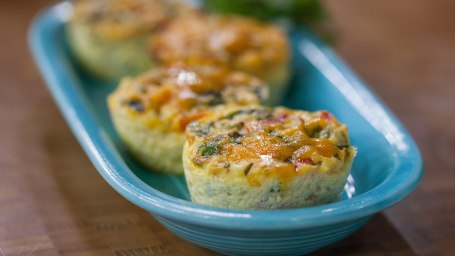Vegetable Frittata Muffins