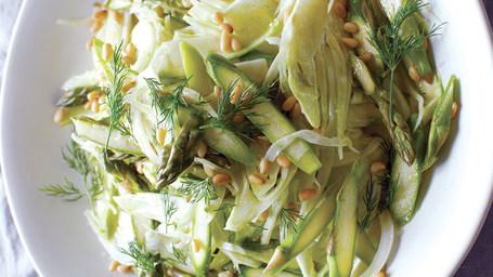 Fennel Asparagus Slaw