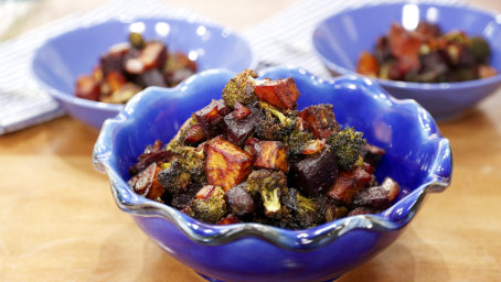 Miso-Roasted Veggies