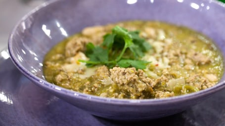 Padma Lakshmi's Pork Chile Verde.TODAY, December 1st 2016.