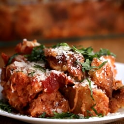 TASTY'S Meatball Parm Bake recipe