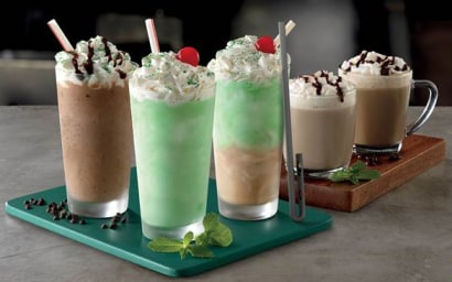 McDonald's new Shamrock Shakes