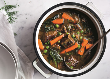 Beef Stew with Dill