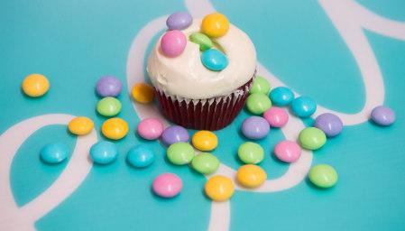 Vanilla Cupcake M&M's