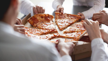 Cut the line for pizza at Papa John's for a fee